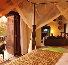 Honeymoon at David Livingstone safari Lodge in Victoria falls